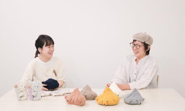 【インタビュー記事】作家Knittingwork work P.dさんに聞いてみました*
